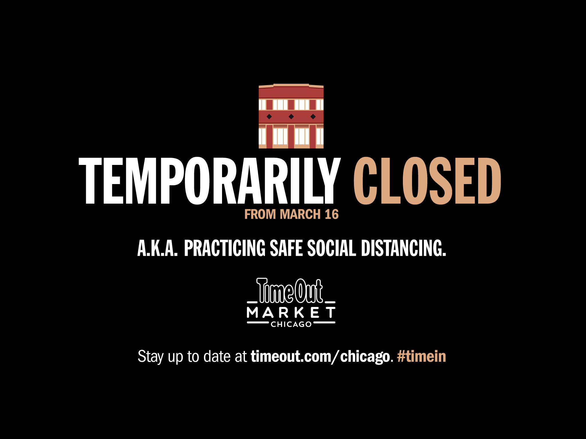 Time Out Market Chicago is temporarily closing