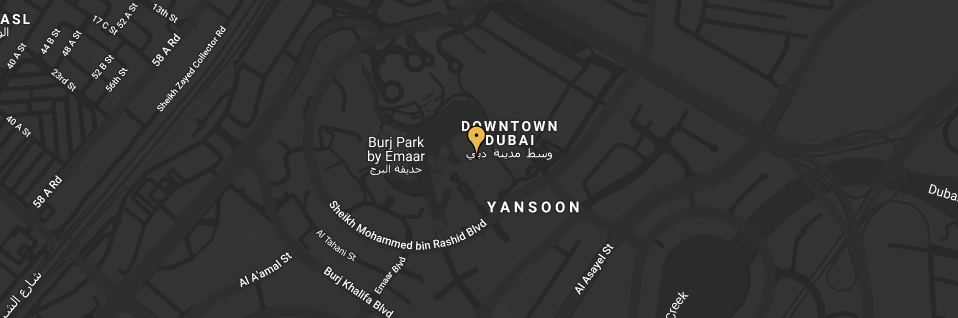 Map of where Time Out Market Dubai is
