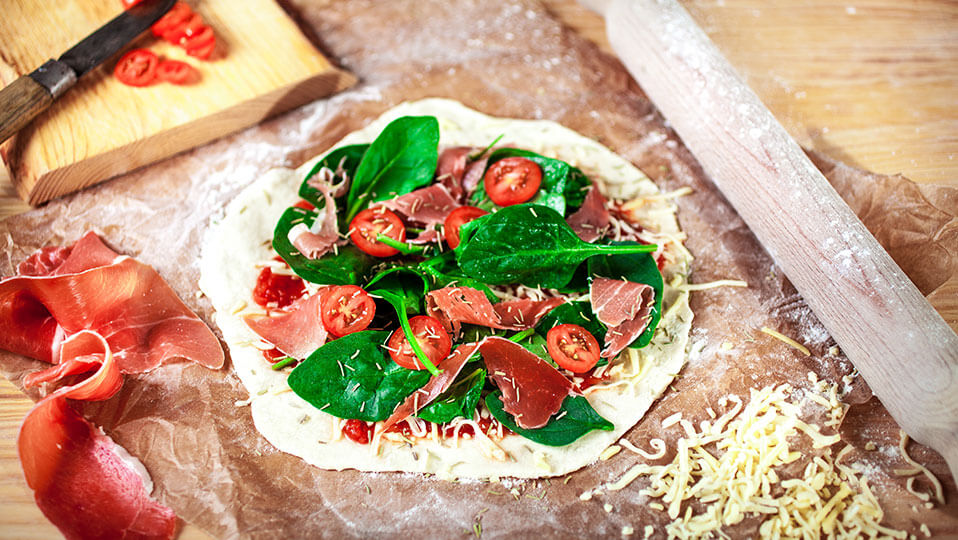 Cozinha Italiana: A pizza