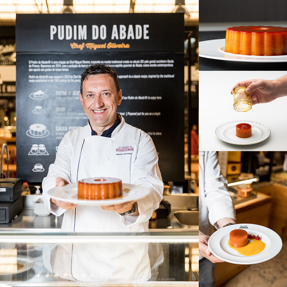 pudim do abade chef miguel oliveira