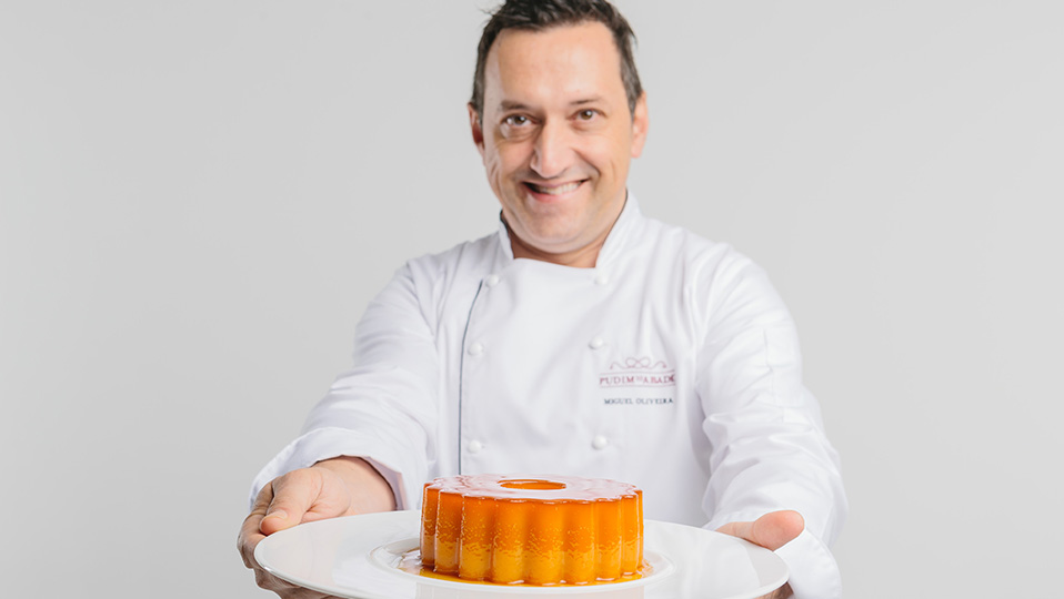 Chef do Mercado: Miguel Oliveira – Pudim do Abade