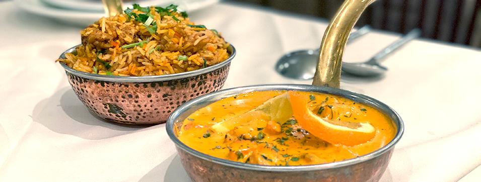 Poulet au buerre, servi avec riz et salade Katchumbar